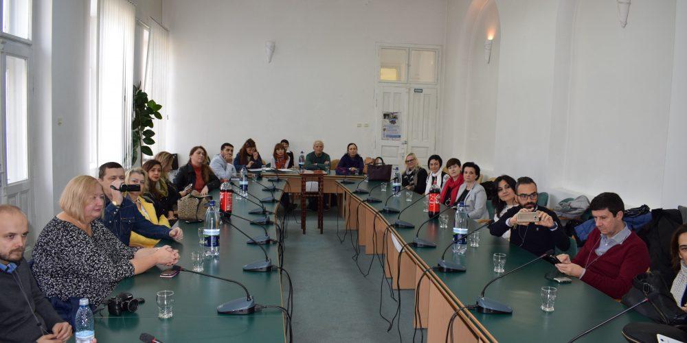 Profesorii Programului Erasmus+, în vizită la Primăria Dej