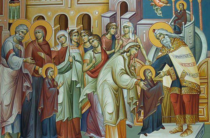 Astăzi: Intrarea Maicii Domnului în Biserică, prima sărbătoare de la începutul Postului Crăciunului