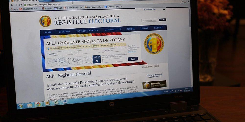 Sâmbătă se vor desemna președinții birourilor electorale ale secțiilor de votare
