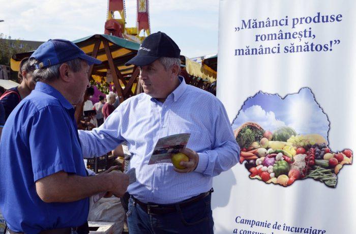 """Continuă campania: """"Mănânci produse românești, mănânci sănătos!"""""""