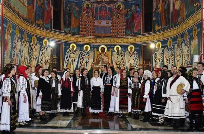 """Concert extraordinar de colinde la Dej, susținut de Ioan Bocșa și Ansamblul """"Icoane"""""""