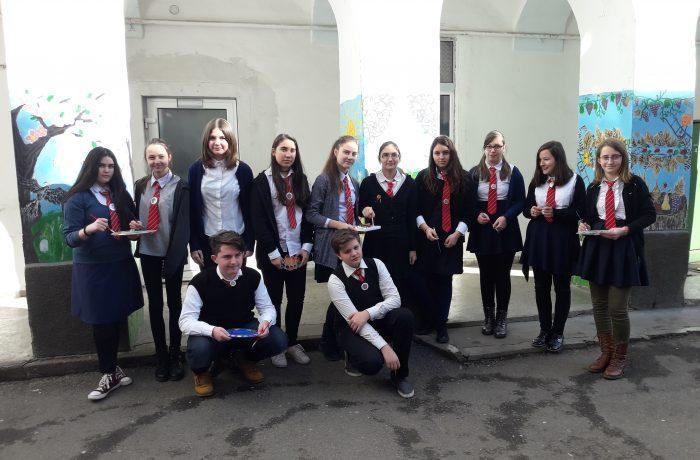 """Grupa de cateheză a Parohiei Ortodoxe Dej II participă la Concursul Național """"Icoana și Școala mărturisirii"""""""