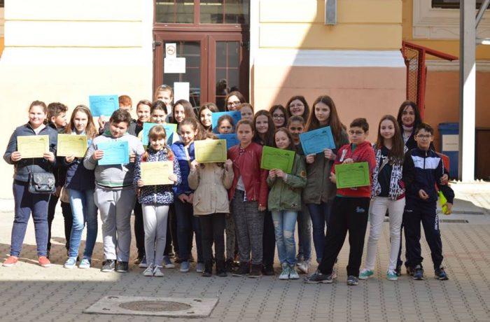 """""""Treasure Hunt""""  la Colegiul Național """"Andrei Mureșanu""""  Dej"""