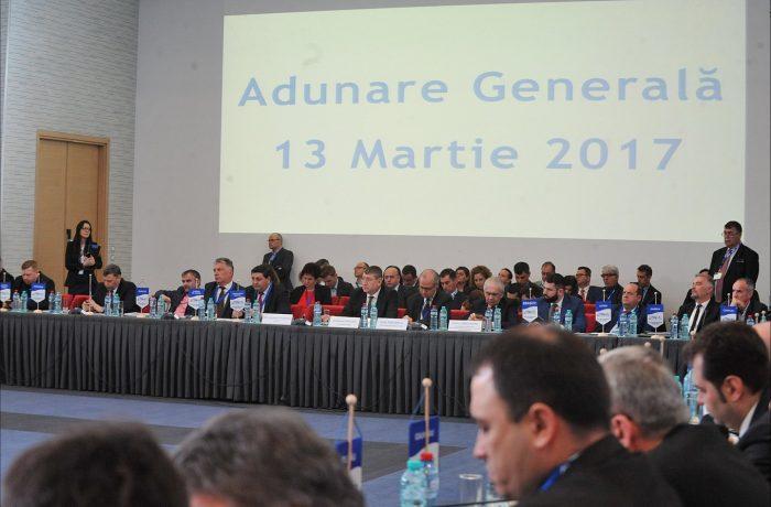 Primarul Costan Morar a reprezentat Dejul la Reuniunea AMR din București