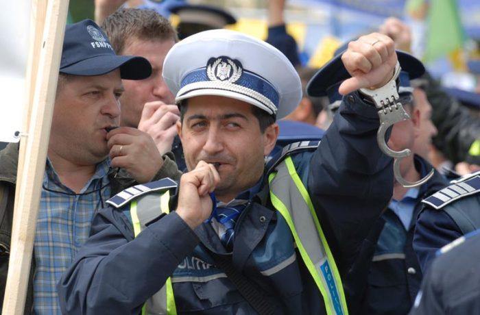 Polițiștii clujeni se pregătesc de protest!