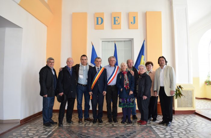 Prieteni francezi, în vizită la Dej