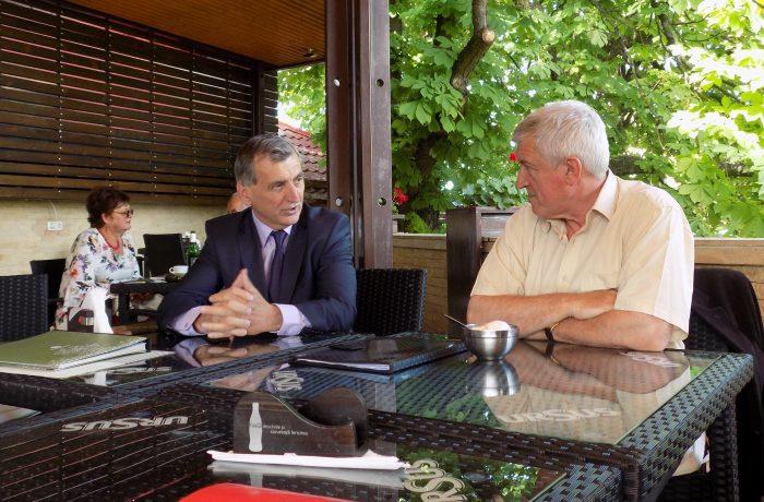 Despre patrimoniu, cu europarlamentarul Mircea Diaconu, la Dej