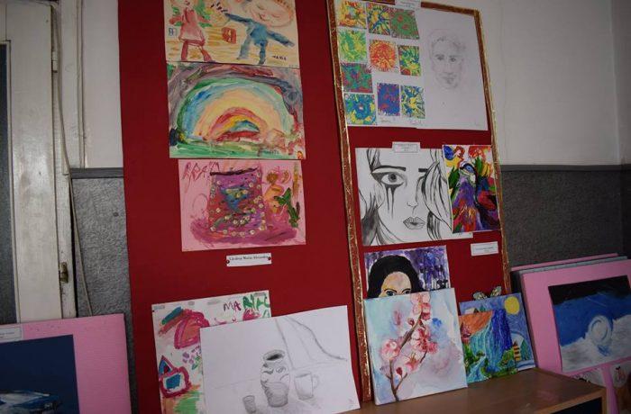 Club de pictură, deschis oficial la CNAM Dej