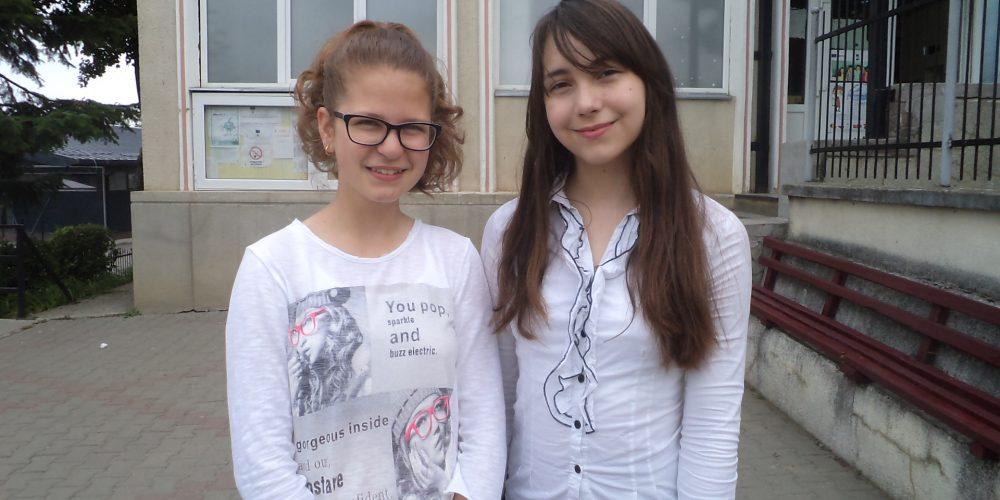 """Două eleve de la Școala """"Avram Iancu"""", premmiate la Olimpiada Națională de Educație Tehnologică"""