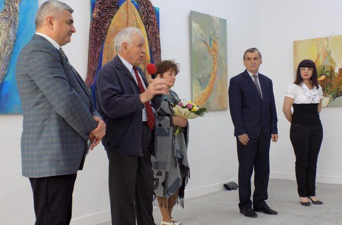 Expoziția personală Ana Sabina Purcariu, pe simezele Galeriei de Artă din Dej