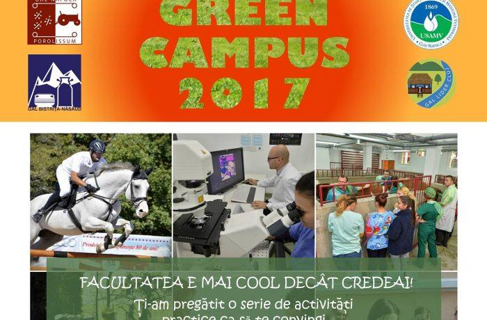 Green Campus 2017 – un eveniment educațional distractiv la USAMV Cluj