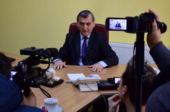 Primarul Costan Morar i-a felicitat pe jurnaliștii dejeni