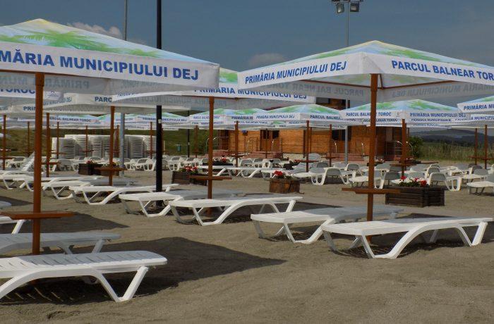 Parcul Balnear Toroc în straie noi nouțe!