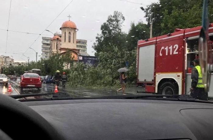 ISU Cluj: trei localități din județ, afectate de furtunile de marți