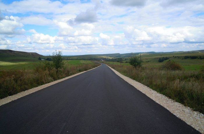 Drumuri județene modernizate și reabilitate