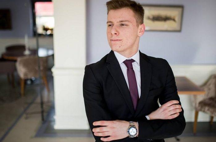 Vlad Racolța de la LAPI Dej, între cei nouă care au obținut în județ, media 10 la Bacalaureat