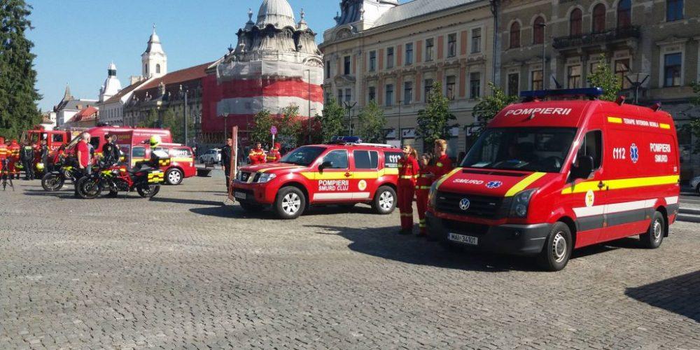 Pompierii SMURD au nevoie de ambulanțe noi