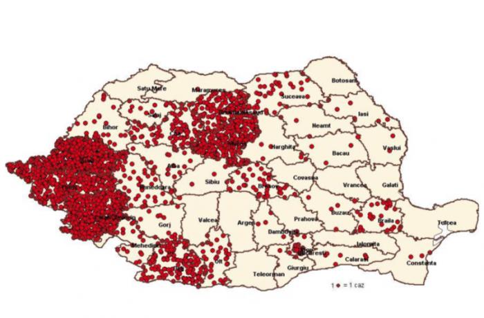 Epidemia de RUJEOLĂ: Peste 9.000 de îmbolnăviri şi 34 decese, în ţară.