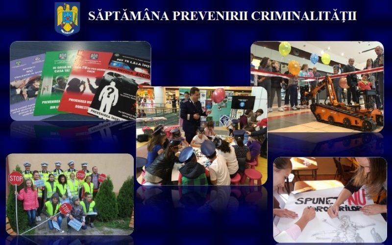Săptămâna prevenirii criminalității, în județul Cluj