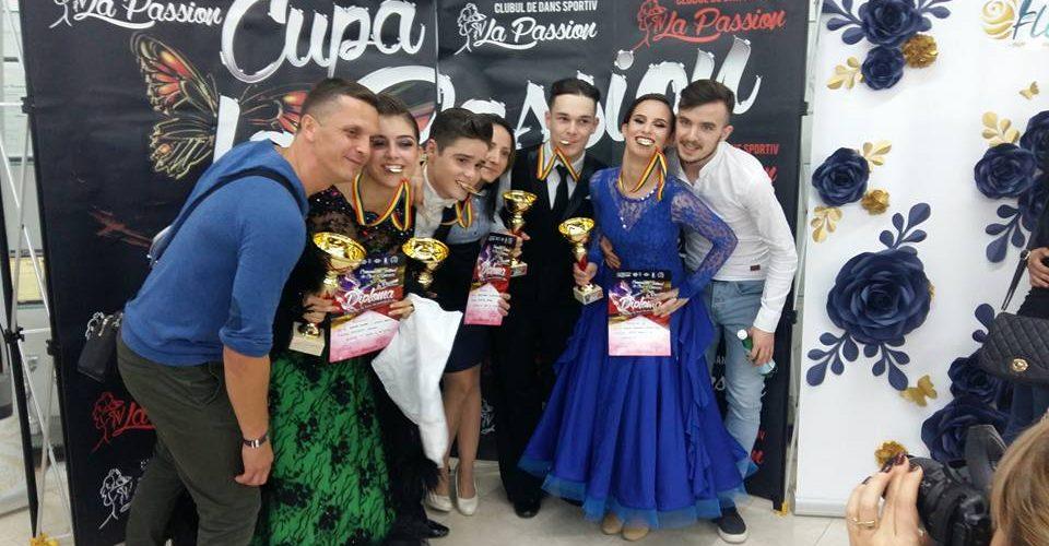 Dejul are noi campioni și vicecampioni la dans sportiv
