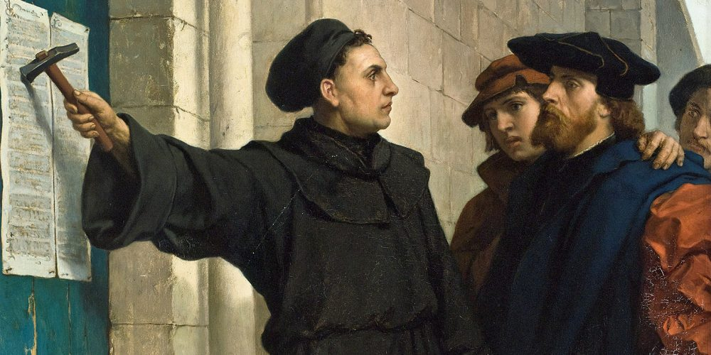 500 de ani de la  afișarea tezelor lui Martin Luther, marcaţi la Bistriţa