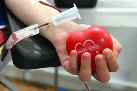 O nouă campanie de donare de sânge la Dej
