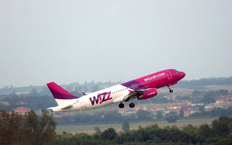Zboruri Wizz Air  între Cluj și Birmingham (UK)