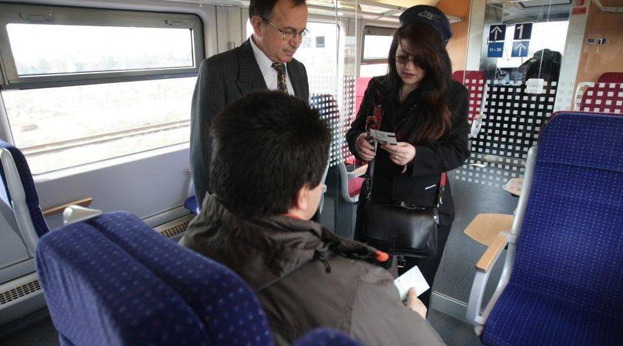 Sute de călători amendaţi în trenuri şi gări, într-o singură zi