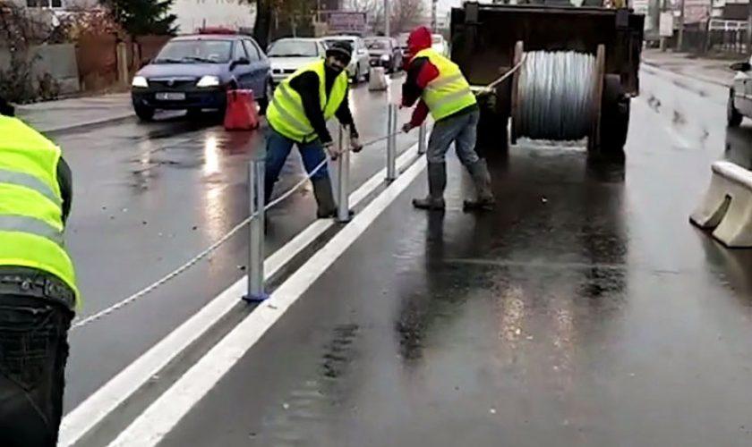 Parapetul din cabluri, noua soluţie pentru evitarea accidentelor  pe șoselele din România