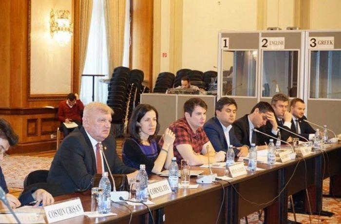 Întâlnire de lucru între parlamentari români şi moldoveni