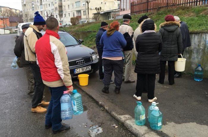"""Primarul Dejului: """"Această firmă trebuie să răspundă pentru această situație de criză care a lăsat peste 40000 de locuitori fără apă''."""