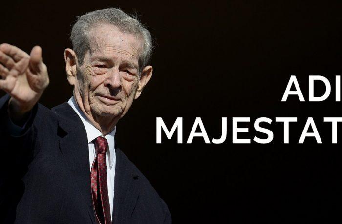 O pagină din istoria României:  Adio,  Majestate!