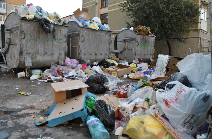 Program modificat la colectarea deșeurilor,  în ziua de 1 ianuarie 2018
