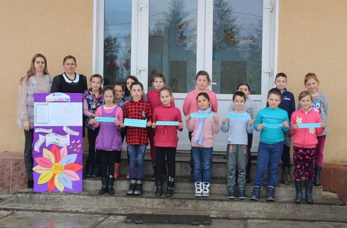 Nonviolența, în atenția elevilor de la Școala Gimnazială Chiuiești