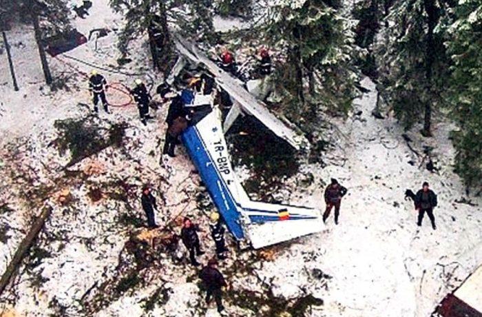Patru ani de la tragedia aviatică din Apuseni. Parastas pe muntele Petreasa