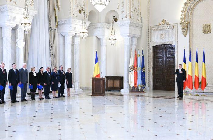 A fost investit al treilea guvern PSD-ALDE