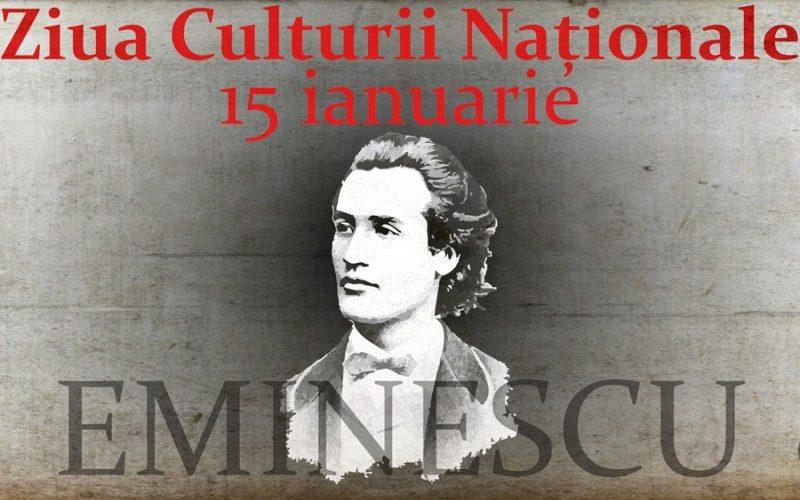 Ziua Culturii Naționale și Ziua Eminescu, sărbătorite luni la Dej