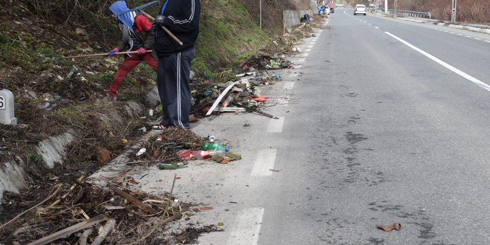 Acțiune de curățenie în Dej
