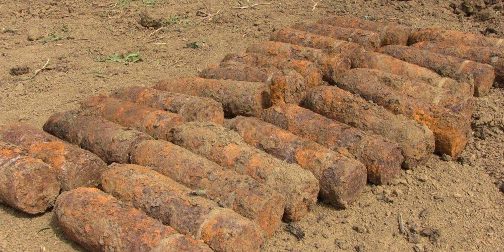 Elemente de muniție rămase neexplodate din al doilea război mondial, descoperite lângă Gherla