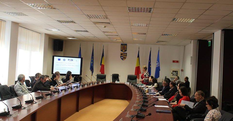 """Lansarea proiectului european """"Calitate, Competenţă, Performanţă în Consiliul Judeţean Cluj"""""""