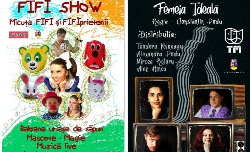 """Teatrul Mic din Sibiu, cu două spectacole la Centrul Cultural """"Arta"""""""