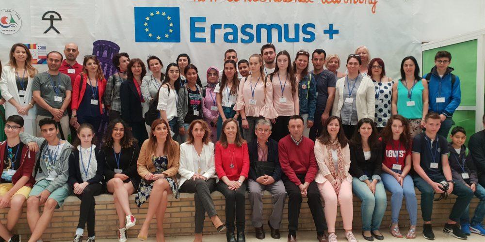 "Delegația Școlii ""Avram Iancu"", la o reuniune Erasmus în Spania"