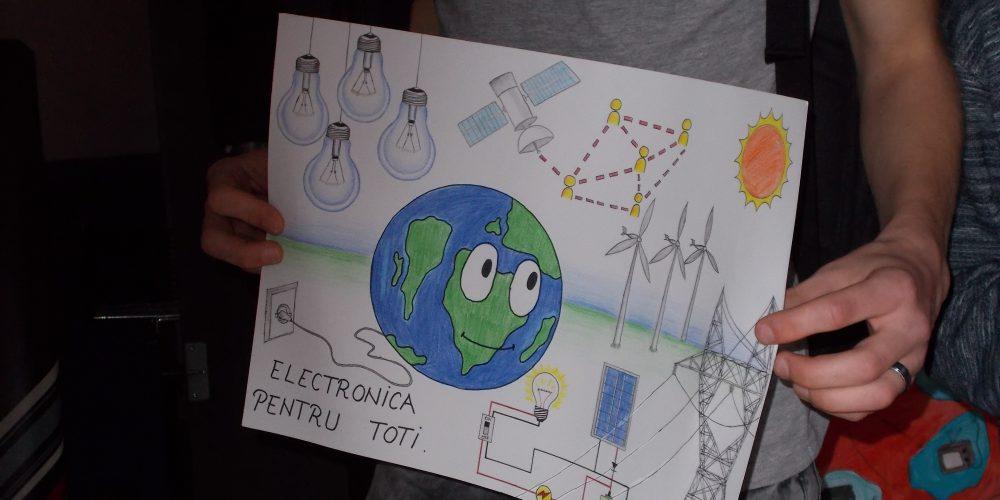 """""""Electronica pentru toți"""", la Clubul Copiilor din Dej"""