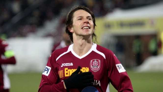 Fotbalistul Ciprian Deac a primit titlul de cetăţean de onoare al Municipiului Dej
