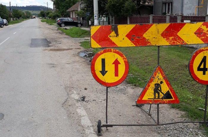 Lucrări de întreținere și reparații pe drumul județean 161 Bonțida