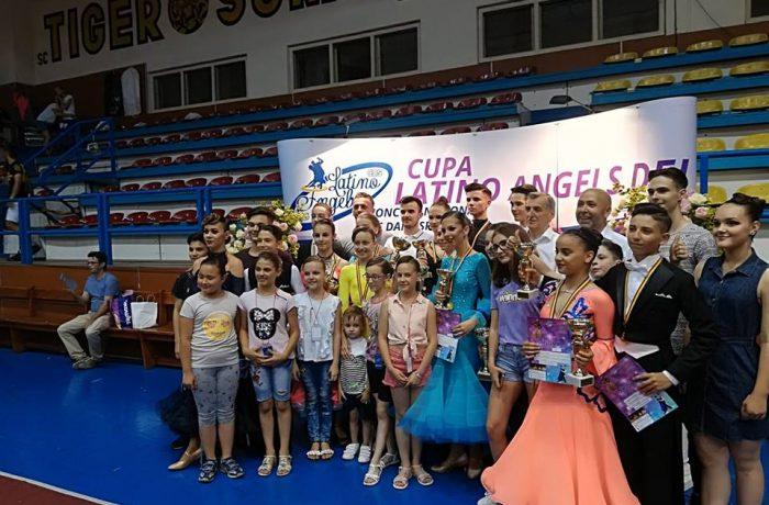 Concurs naţional de dans sportiv, la Dej