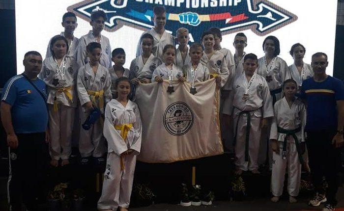 C.S. Vulturii Dej pe podium la Romania Open Taekwon-do ITF Championship