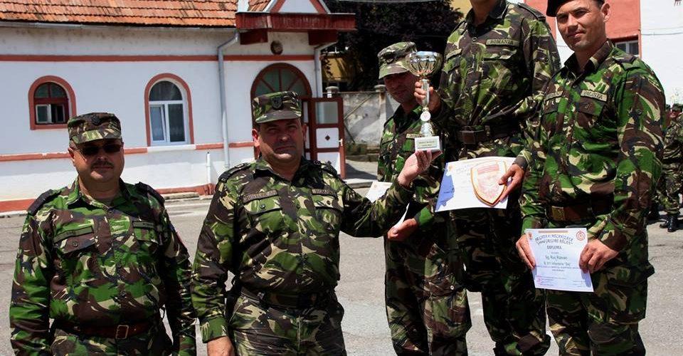 Militar dejean premiat la competiția  SUBOFIŢERUL/SOLDATUL ANULUI 2018, etapa pe Brigada 81 Mecanizată