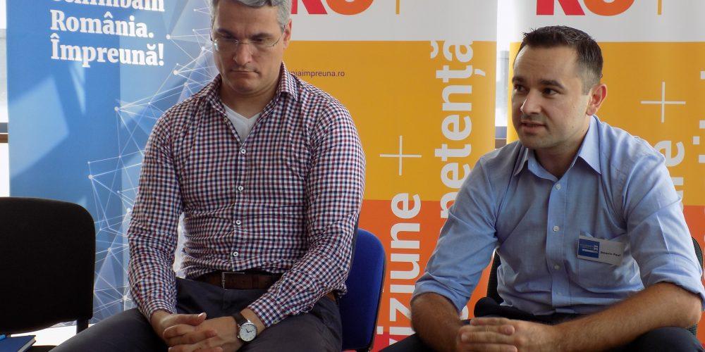 """Comunitatea Ro100 Dej este hotărâtă """"să aducă o îmbunătățire vizibilă a calității vieții din oraș"""""""