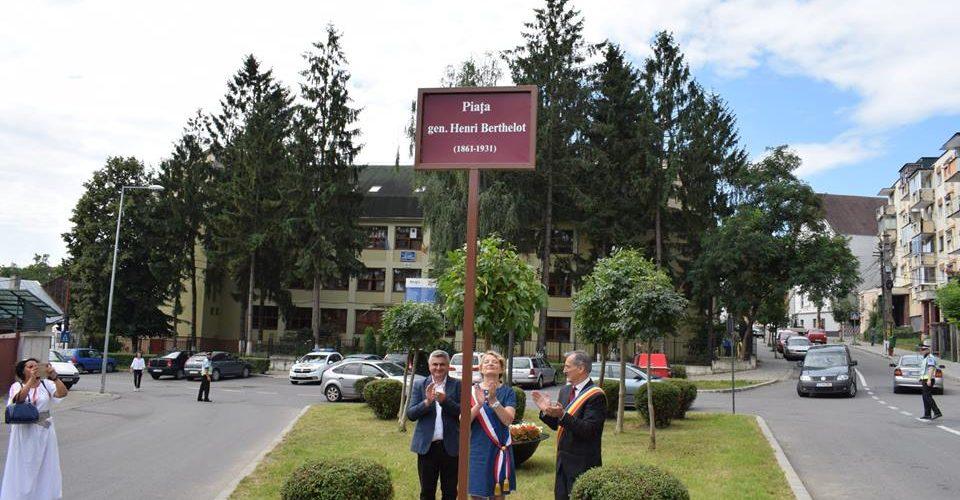 Generalul Bethelot, un simbol al relațiilor franco-române, la Dej